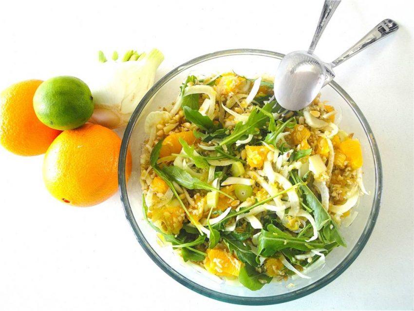 Salade fenouil et orange