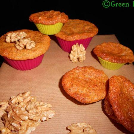 Muffins noix-banane-sirop d'érable