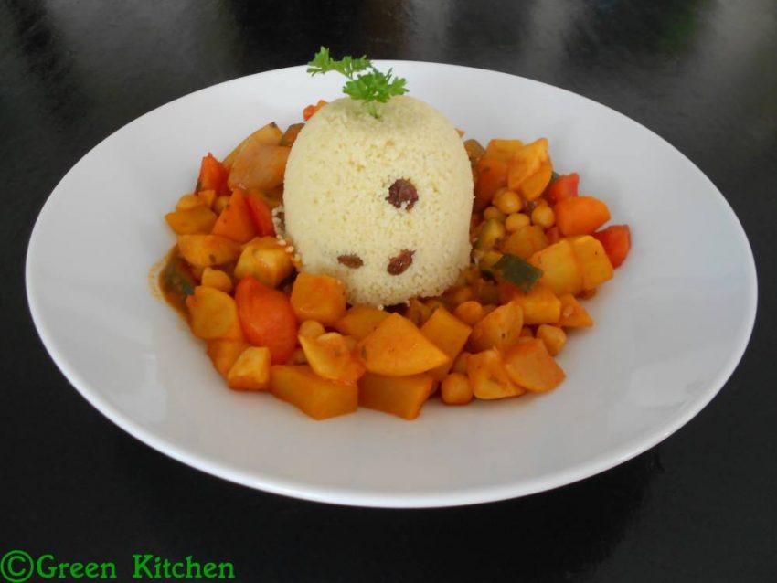 Couscous savoureux