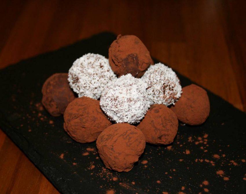 Truffes et gourmandises chocolatées