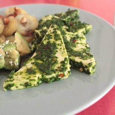 Tofu chimichurri