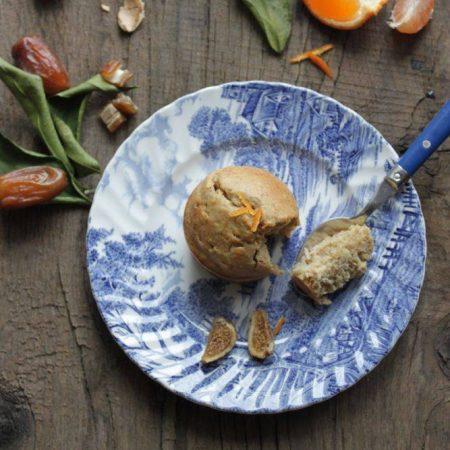 """Muffins frangipane <span class=""""amp"""">&</span> érable aux zestes de clémentines"""