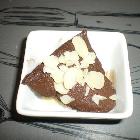 Crème chocolat-cacahuète