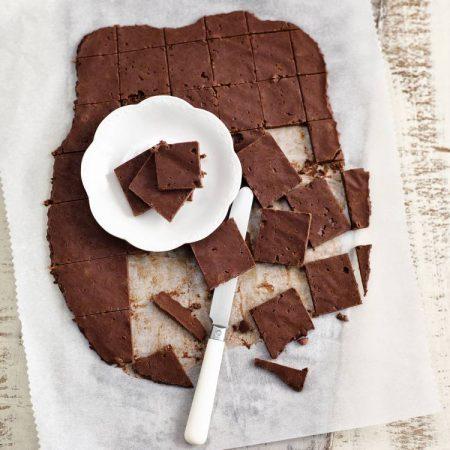 Carrés chocolatés aux azukis