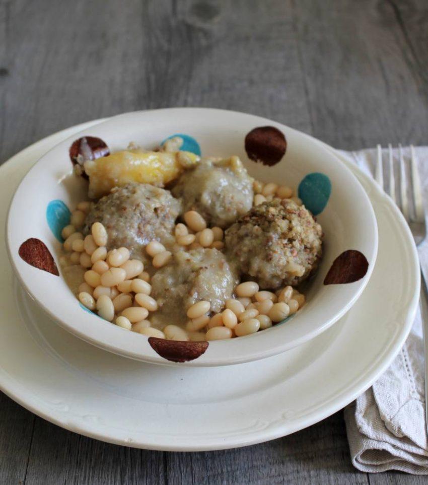 Ragoût de boulettes de sarrasin