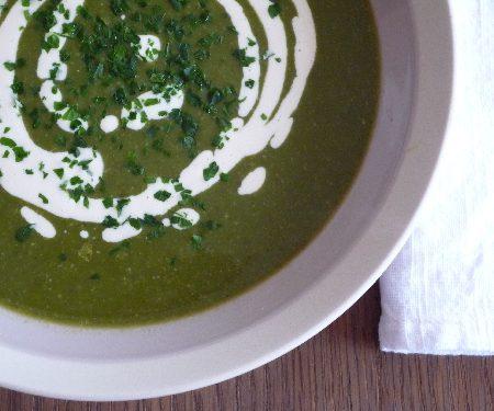 Soupe Veloutée Bettes <span class=