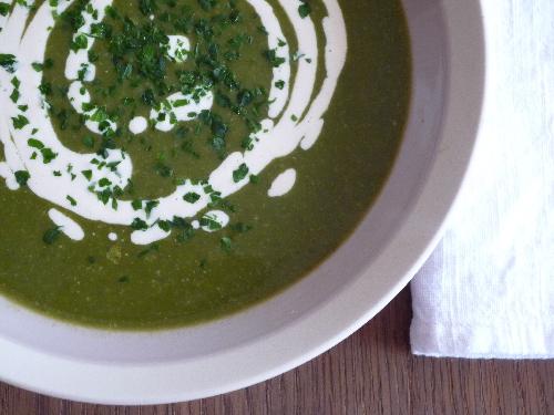 """Soupe Veloutée Bettes <span class=""""amp"""">&</span> Lentilles"""