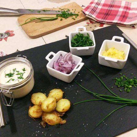 Pommes de terre sautées à l'alsacienne