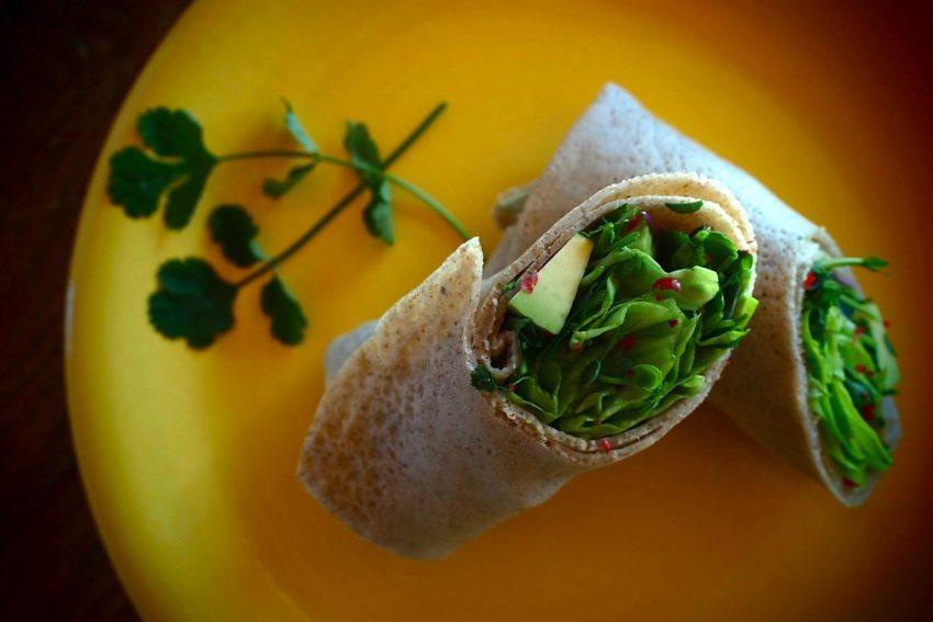WRAPS 100% végétal et sans gluten