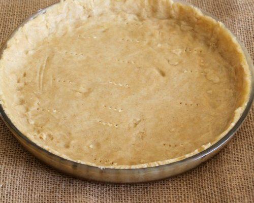 Fond de tarte (sucrée) sans gluten