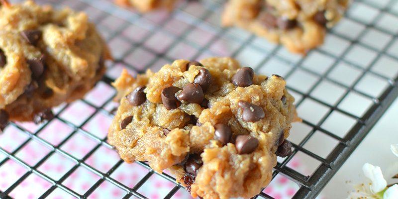 "Cookies ""3 ingrédients"" cacahuète-chocolat"