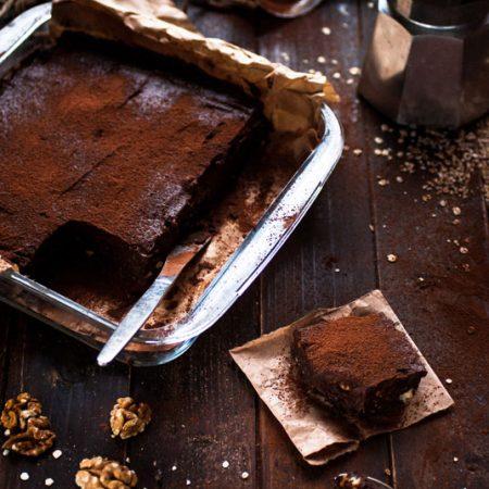 Brownie aux dattes et au sarrasin