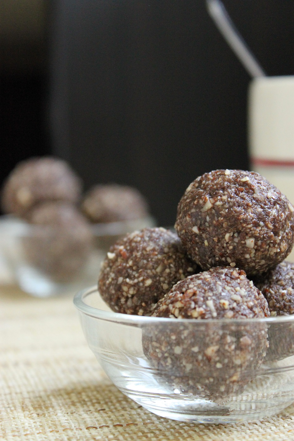 Boulettes énergie chocolat et noisettes - 1.2.3. Veggie
