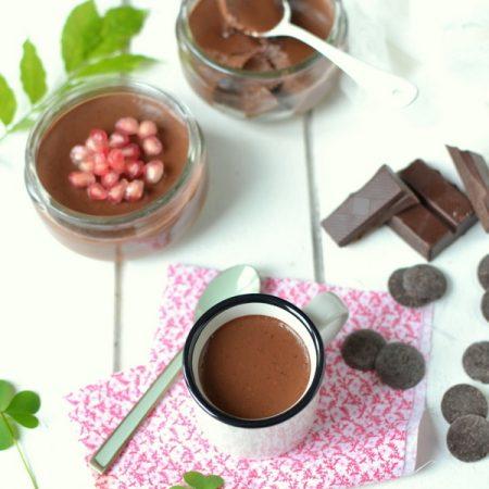 Flans au chocolat