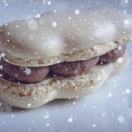 Macarons de fête Choco/Coco/Spéculoos