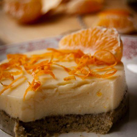 Gâteau au tournesol & thé, amande & clémentine