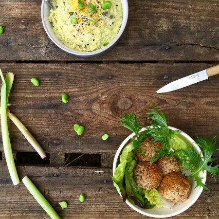 Veggie balls (boulettes aux légumes)