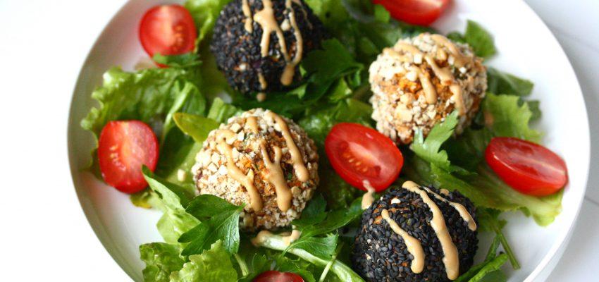 Boulettes de quinoa printanières