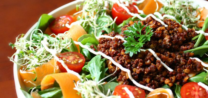 quinoa mexicain vegan
