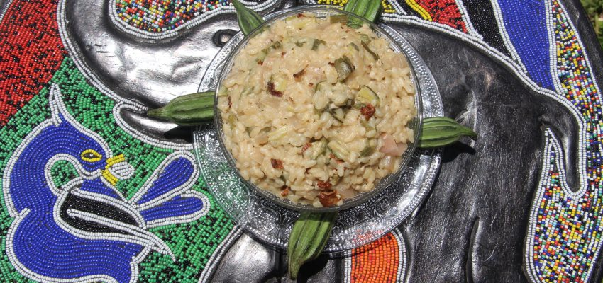 Risotto aux gombos
