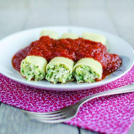 Cannelloni à la courgette
