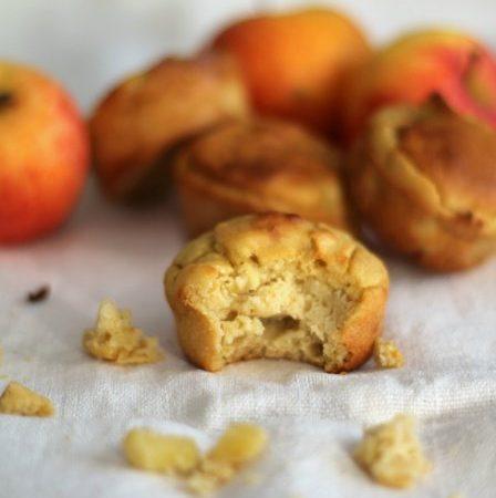 Muffins à la pomme (sans gluten)