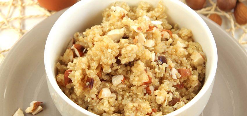 Quinoa croquant, amandes et noisettes