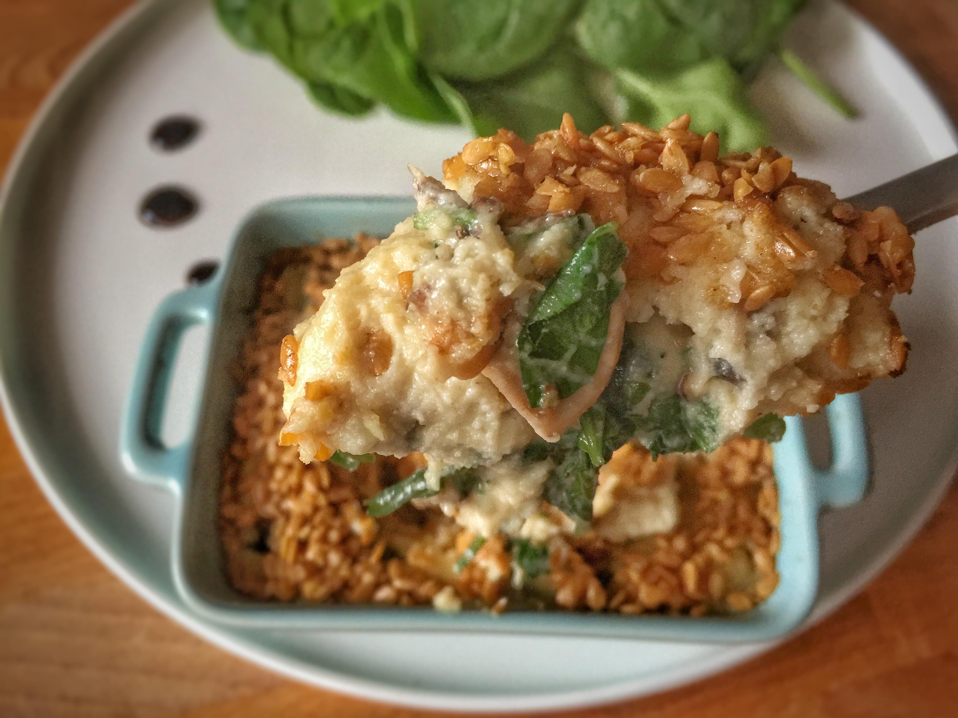 Cocotte cr meuse aux champignons 1 2 3 veggie - Comment cuisiner les germes de soja frais ...