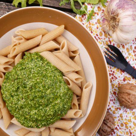 Pesto de roquette auxnoix