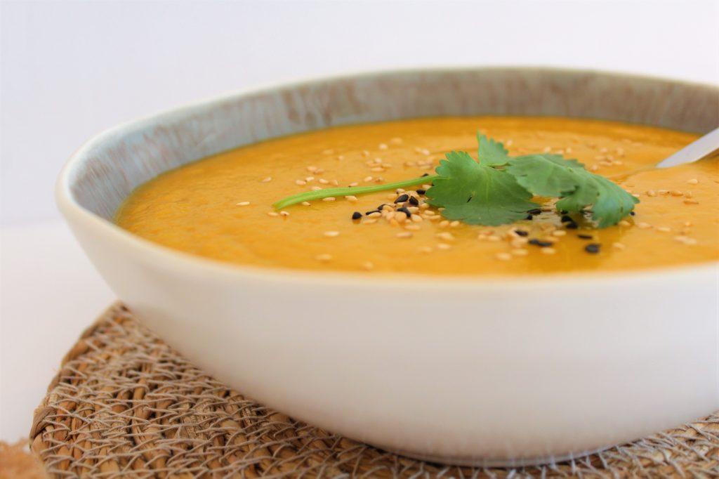 Soupe veloutée de carottes aux épices - 1.2.3. Veggie