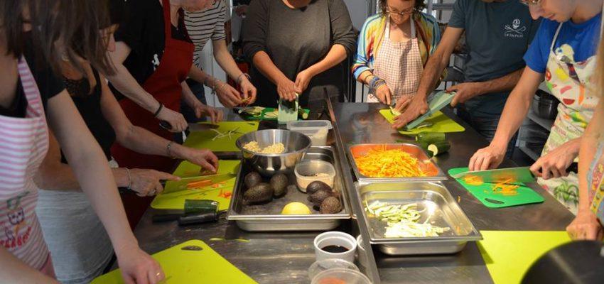 Ateliers cuisine 1, 2, 3 Veggie à Lyon