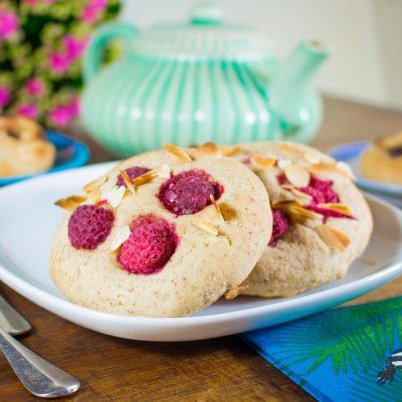 Cookies moelleux à l'okara d'amande et farine d'épeautre