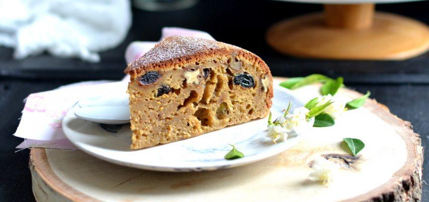 Gâteau de petit épeautre aux fruits secs