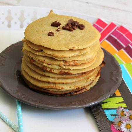 Pancakes au tofu soyeux et sans gluten