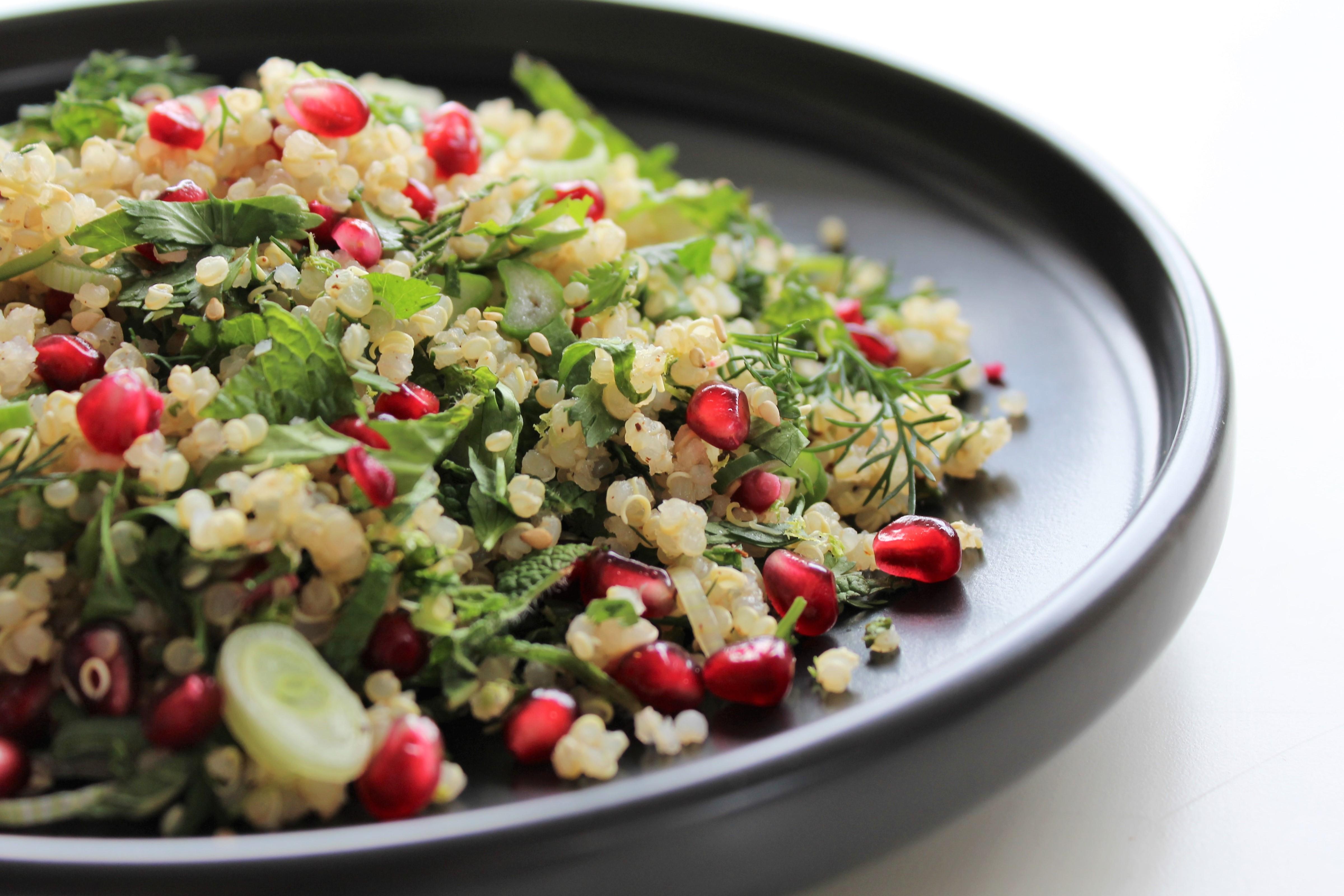 Salade de Quinoa aux Herbes - 1.2.3. Veggie