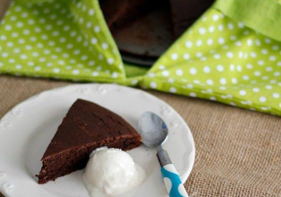 Gâteau au chocolat {sans gluten}