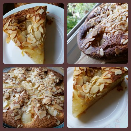 gâteau financier aux poires et aux amandes