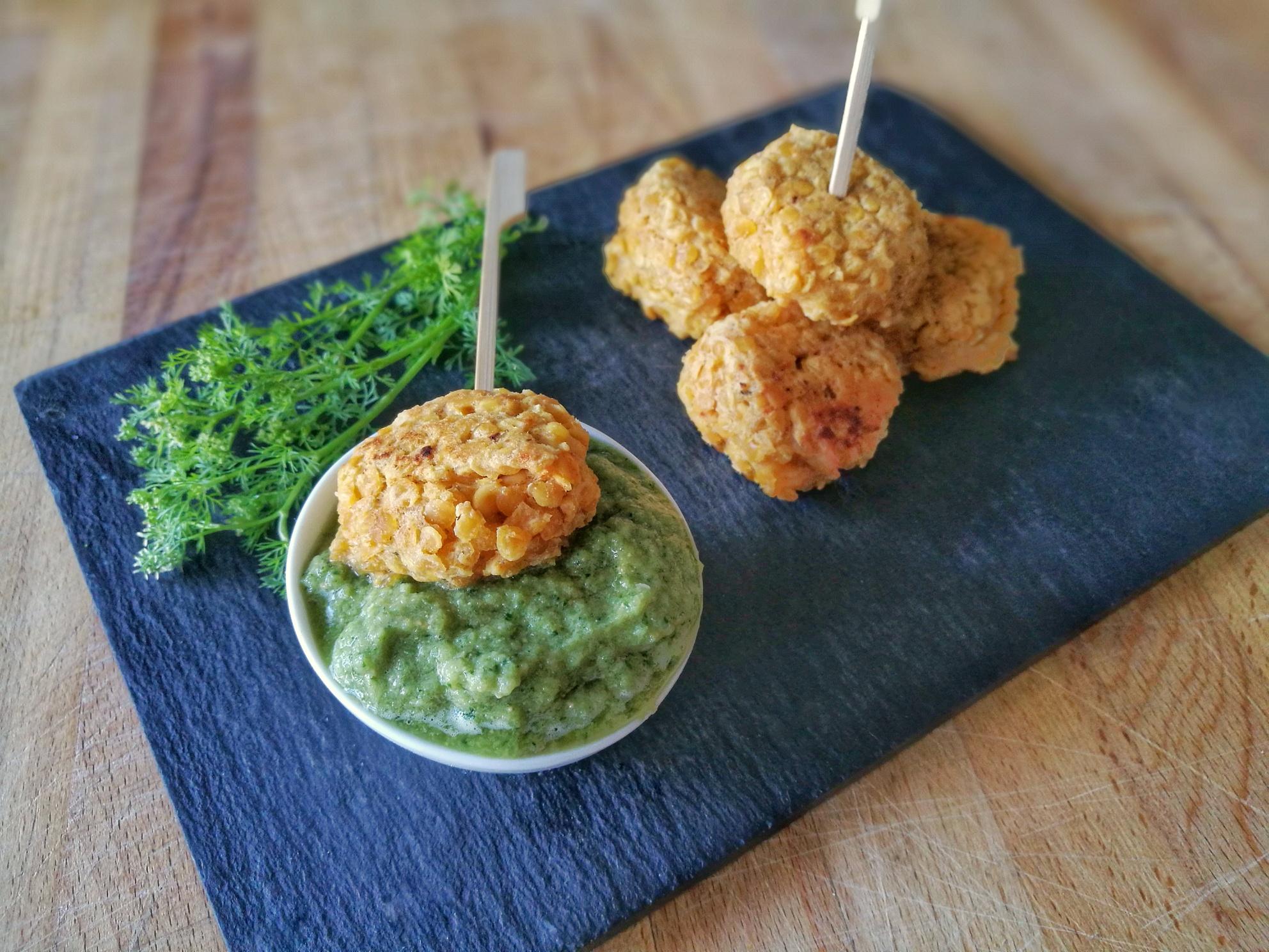Falafels de lentilles corail recette vegan et sans gluten - Comment cuisiner les lentilles corail ...