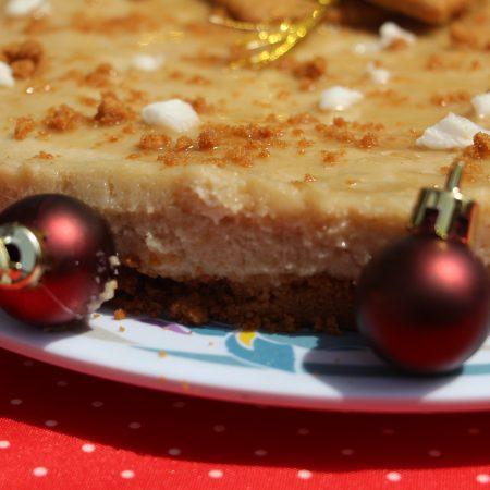 Cheesecake de fête aux spéculoos