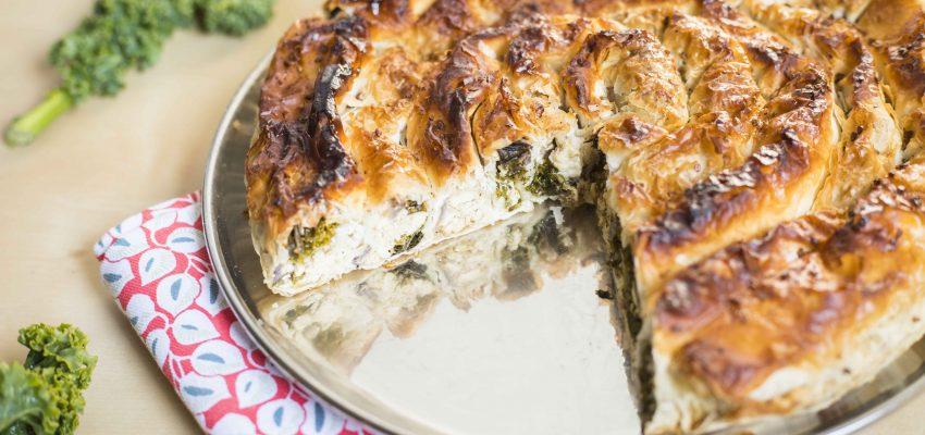 Borek aux épinards et tofu