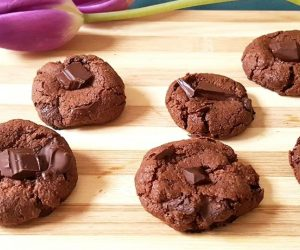 cookies véganes au chocolat