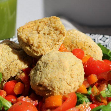 Boulettes de quinoa aux pois chiches
