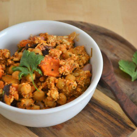 poêlée de légumes à la srilankaise