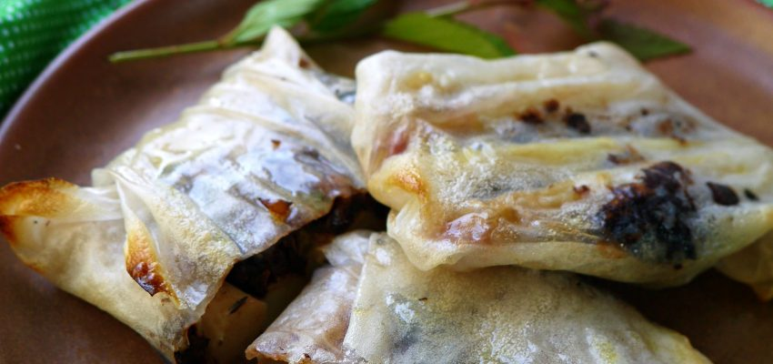 Papillote asperge tapenade BBQ VG