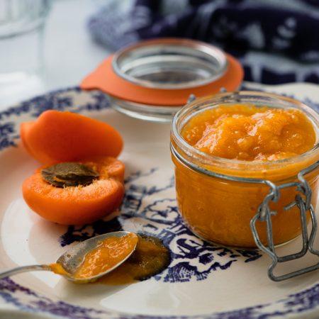 Recette compote pomme-abricot sans sucre
