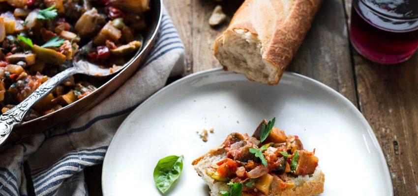 recette de caponata vegetale