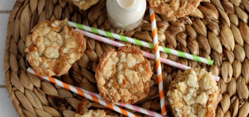 Muffins pomme/poire façon crumble