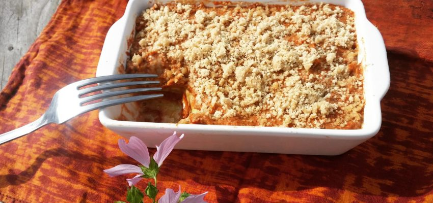 lasagnes crues végétales