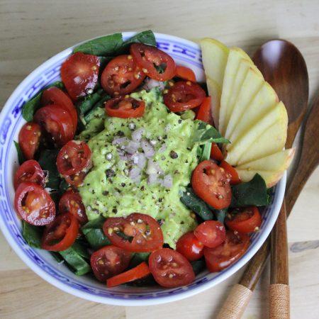 épinard recette vegetale