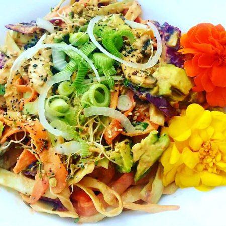 Pad thaï végétal